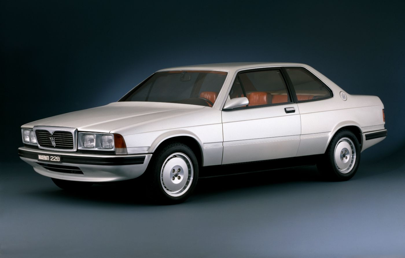 1987 Maserati 228 Biturbo - a classic model in white
