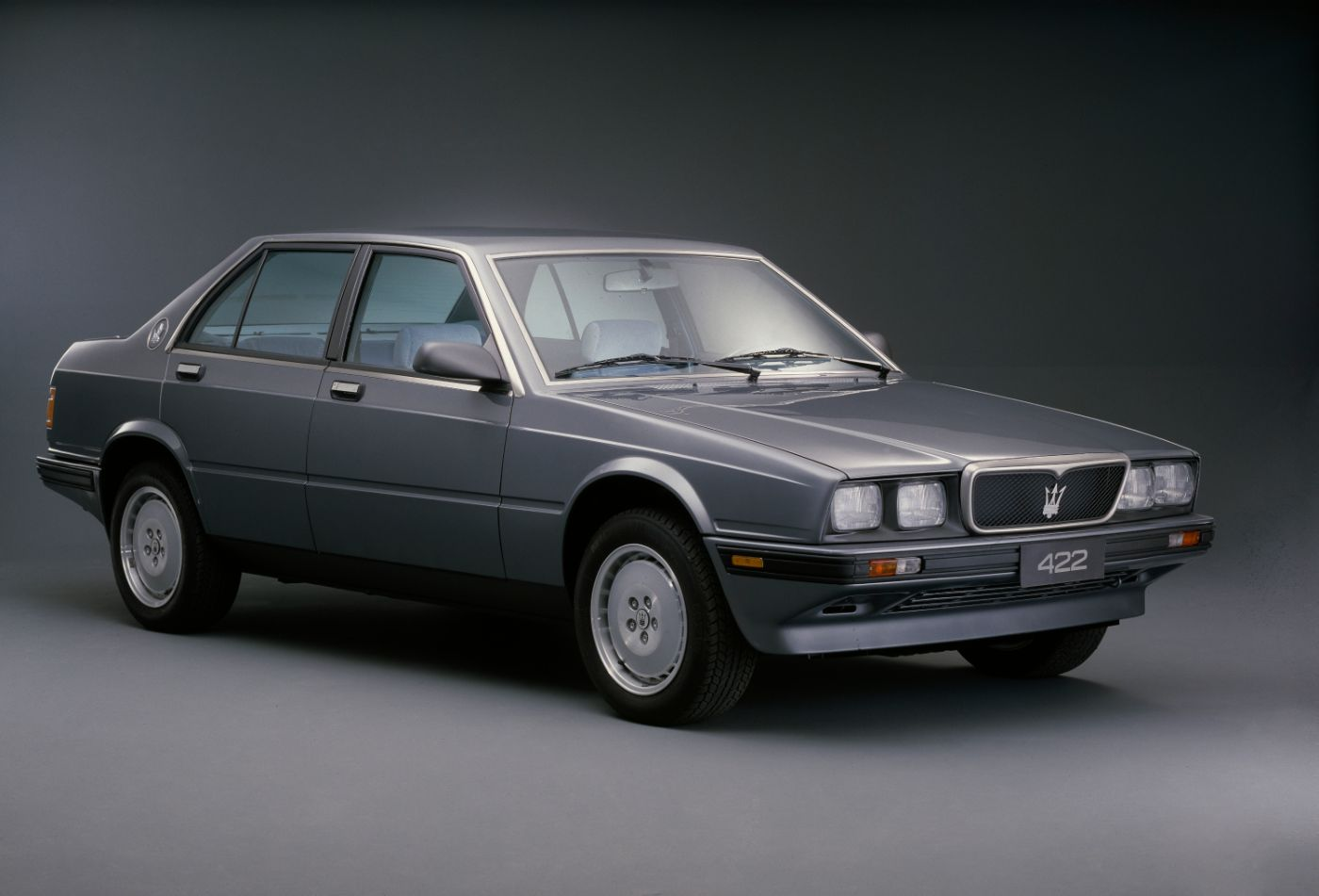 1988 Maserati 422 Biturbo - exterior view of the classic car model