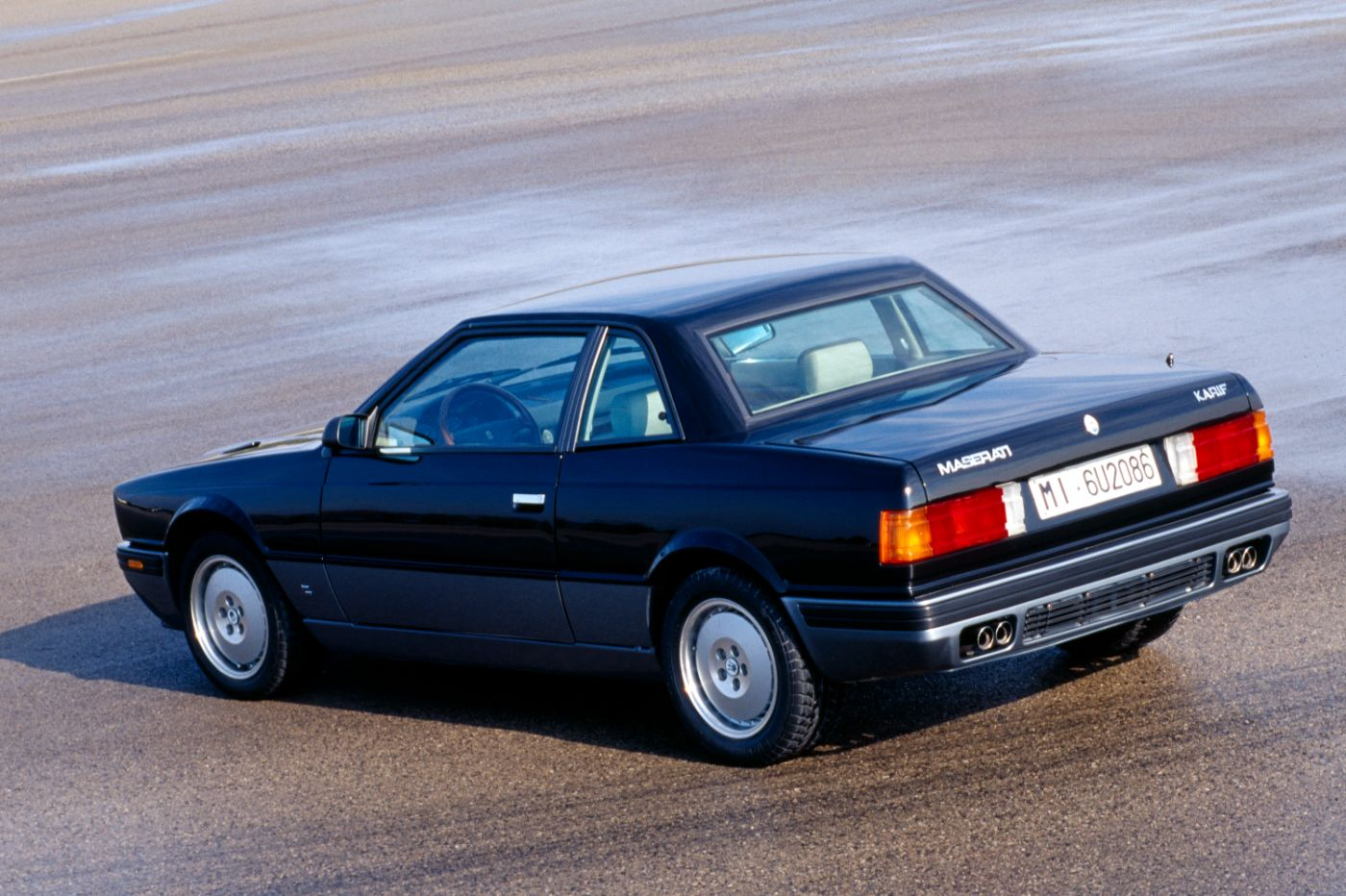 1988 Maserati Karif - Biturbo - exterior of the classic car model