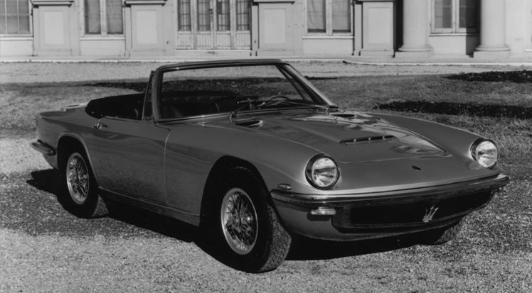1964 Maserati Mistral Spyder - the clasic convertible