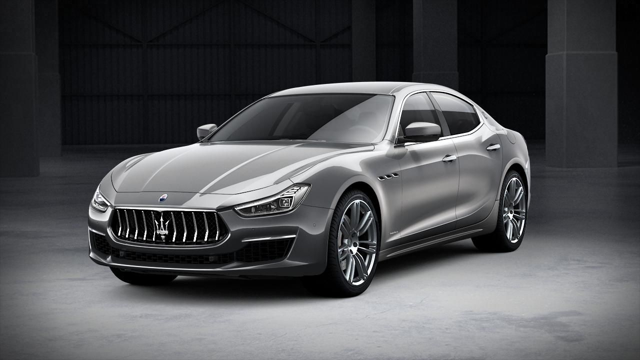 Maserati Ghibli GranLusso exterior – front view