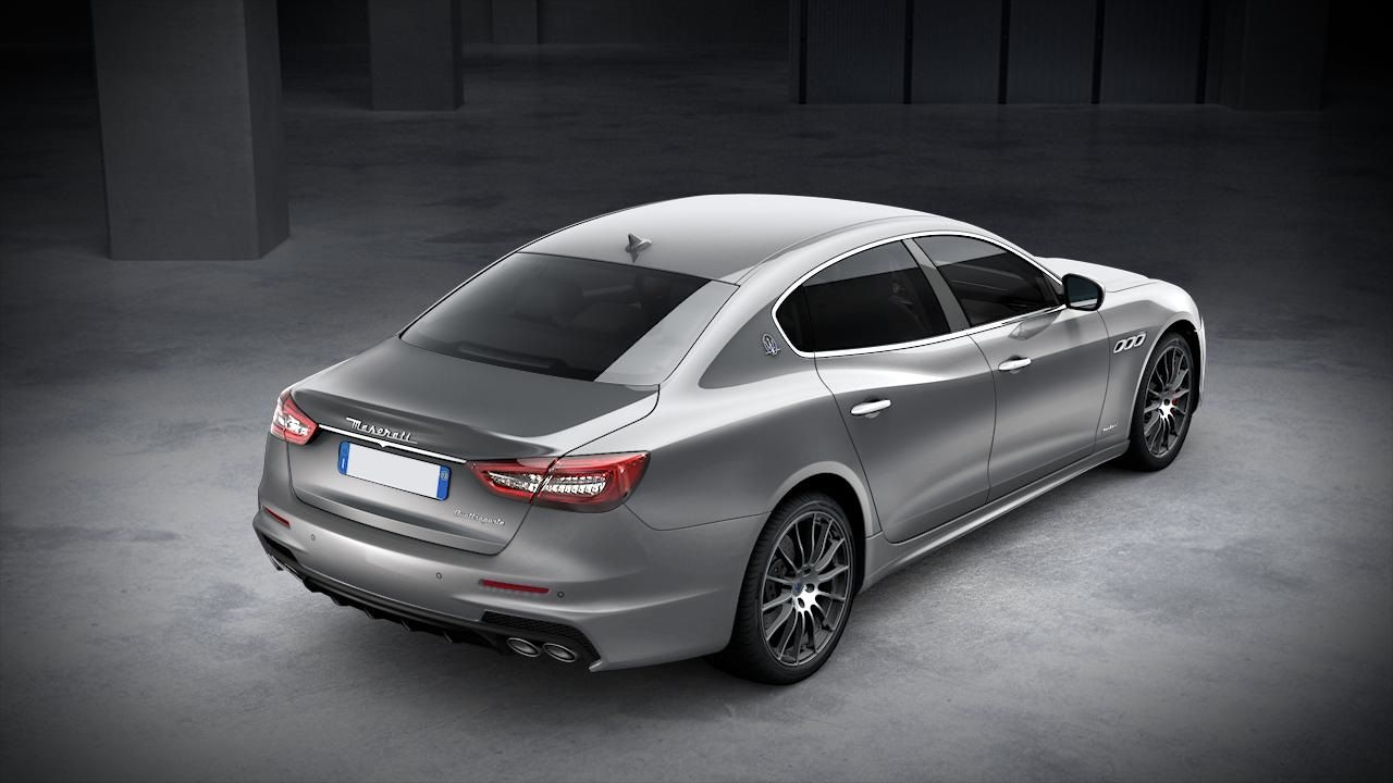 Maserati Quattroporte GranSport exterior – back view