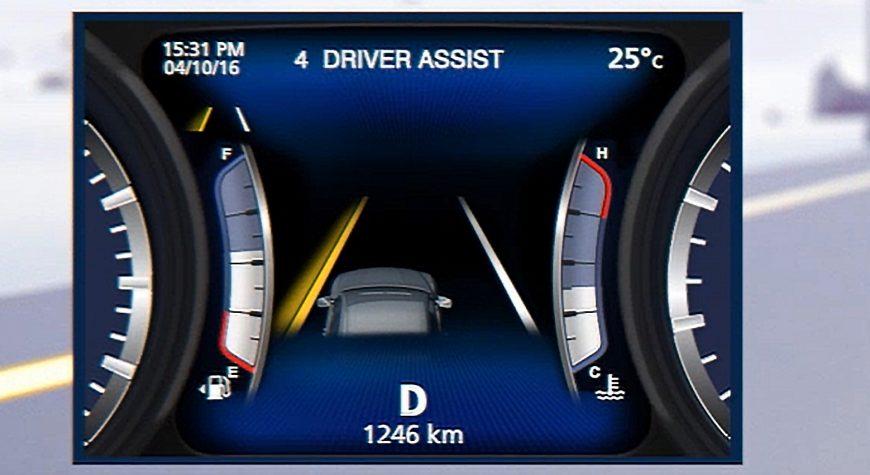 Maserati Lane Keeping Assists
