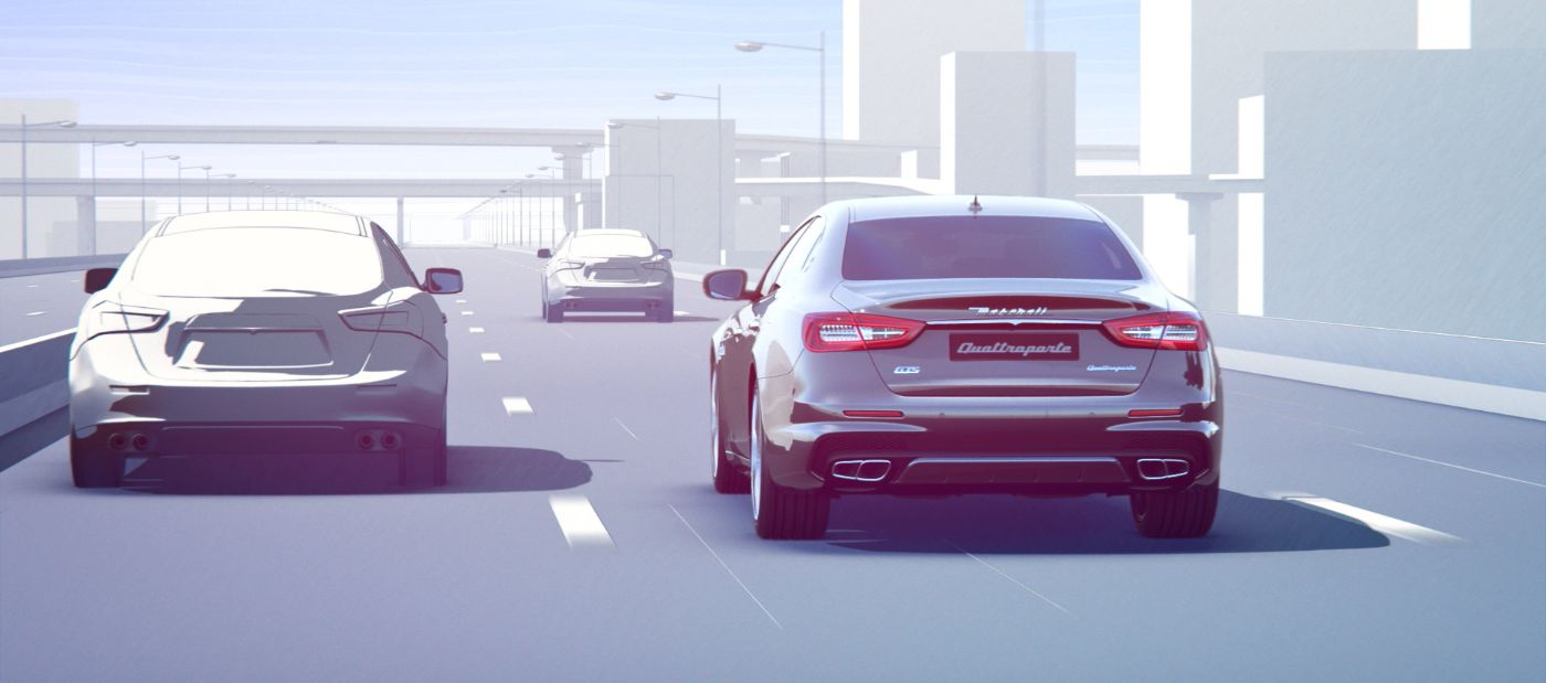 Maserati Highway Assist System - how it works