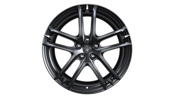 Maserati GranTurismo and GranCabrio rims - MC Glossy Black