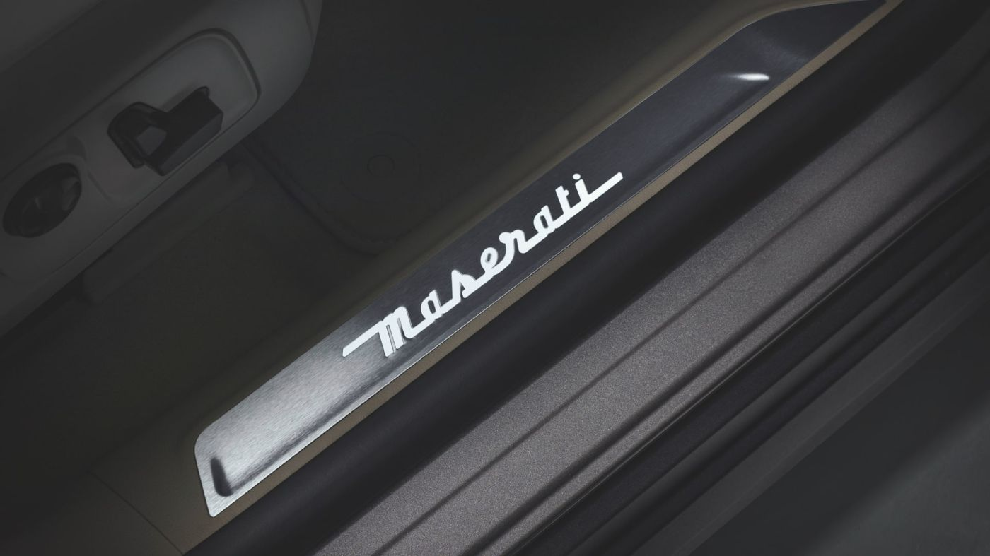 Maserati Levante accessories - Illuminated Doorsills