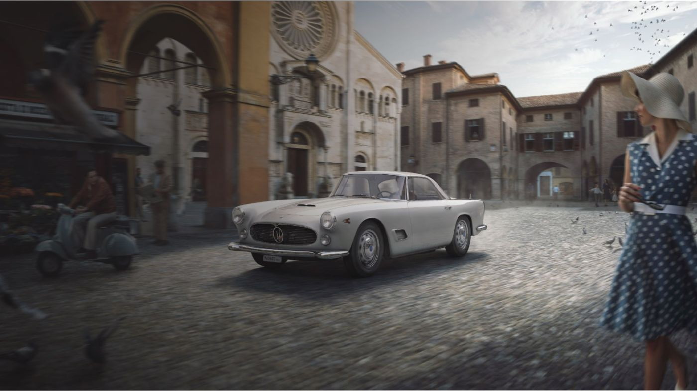 The classic car 3500GT, The