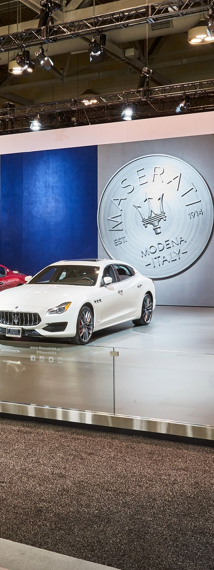 Maserati at the 2019 Canadian International Auto Show